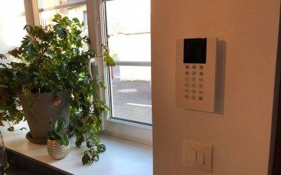 Installation d'une alarme chez un particulier