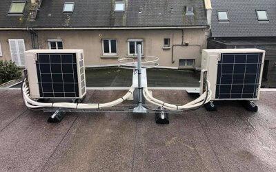 Installation de climatisation / chauffage